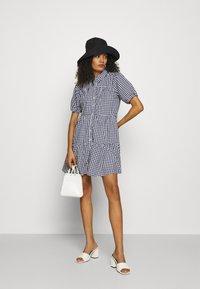 Abercrombie & Fitch - SHIRTDRESS - Sukienka koszulowa - blue - 1