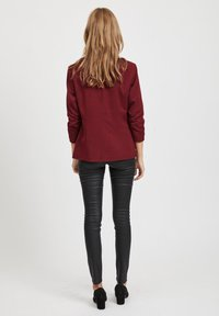 Vila - VIHER  - Blazer - dark red - 2