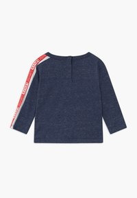 Levi's® - LOGO TAPED LONG SLEEVE - Long sleeved top - dark blue/red - 1