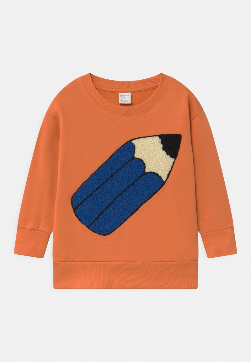 Lindex - PENCIL UNISEX - Sweatshirt - light dusty orange