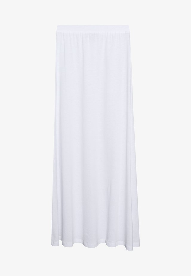 BASIC - Maxi skirt - Maxirock - white