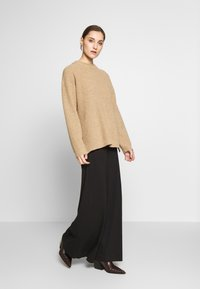 Anna Field - BASIC - Maxi skirt - Maxiskjørt -  black - 1