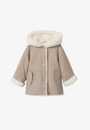 Winter coat - middenbruin
