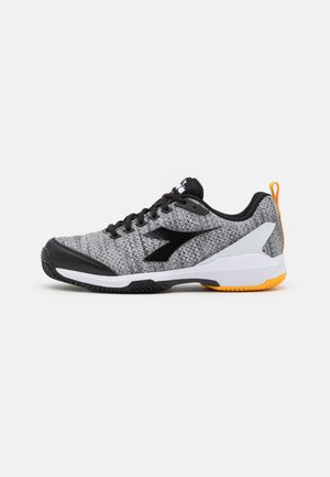 S.SHOT 2 CLAY - Zapatillas de tenis para tierra batida - steel gray/black/white