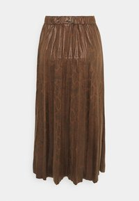 b.young - BYEMILA SKIRT - A-line skirt - chicory coffee - 1