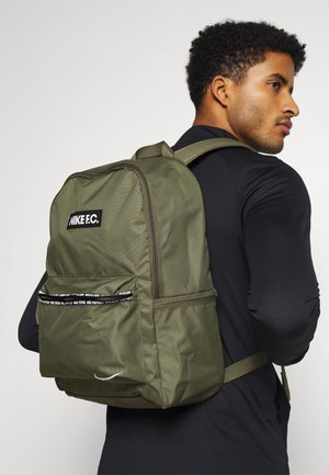 UNISEX - Mochila - medium olive/black/white