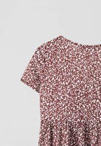 PULL&BEAR - Day dress - dark red - 5