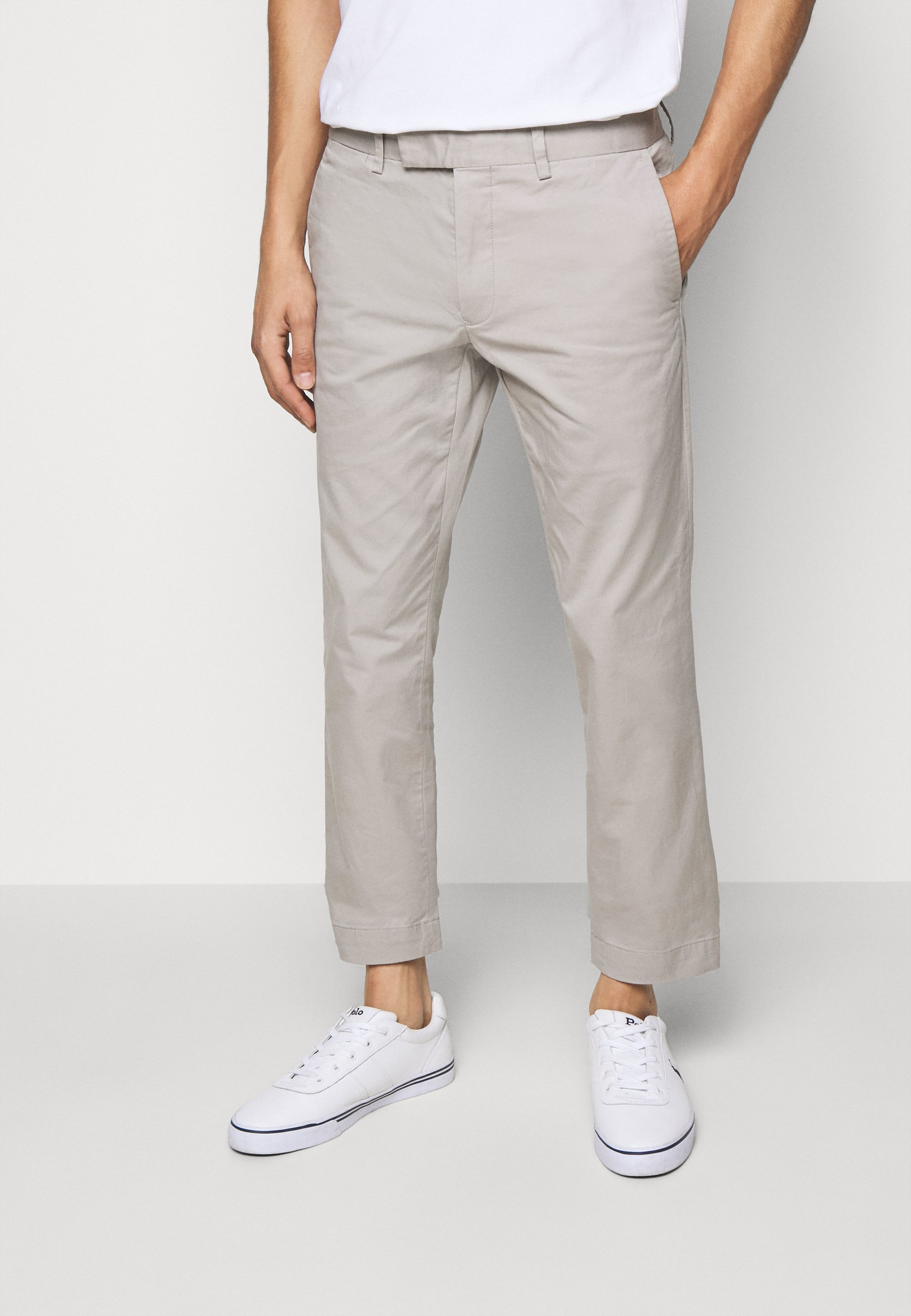Uomo STRETCH SLIM FIT COTTON CHINO - Pantaloni