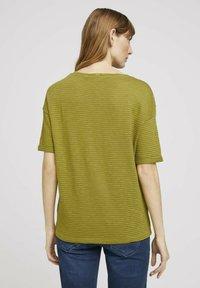 TOM TAILOR - Print T-shirt - gecko green - 2