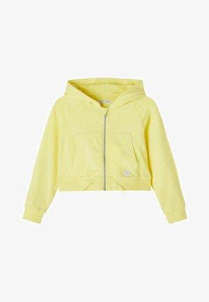 Zip-up hoodie - lemon verbena