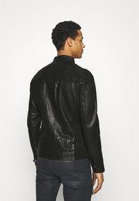 Tigha - HUTCH - Leather jacket - black - 2