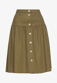 Object - OBJTHELMA SKIRT - A-Linien-Rock - burnt olive - 3
