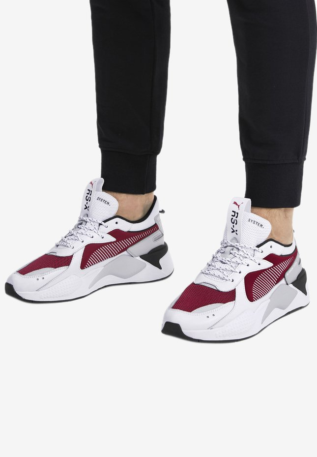 Puma - RS-X TRAINERS UNISEX - High-top trainers - white