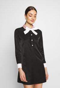 Sister Jane - JEWEL FLORET MINI SHIFT DRESS - Vestido informal - navy blue - 0