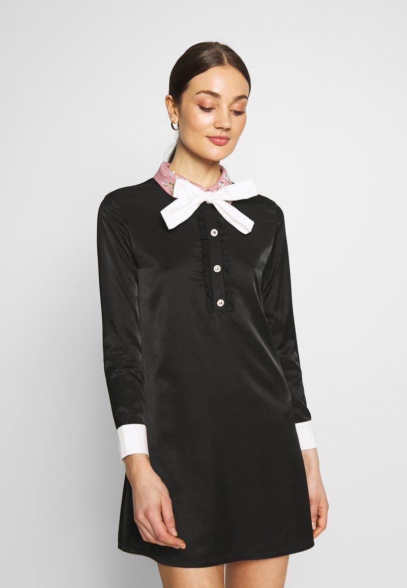 Sister Jane - JEWEL FLORET MINI SHIFT DRESS - Vestido informal - navy blue