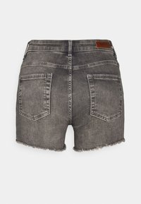 ONLY - ONLBLUSH  LIFE MID - Jeansshorts - medium grey denim - 6