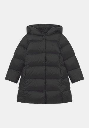 LONG OUTERWEAR COAT - Piumino - polo black