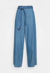 Denham - PALAZZO PANT  - Relaxed fit jeans - blue - 3