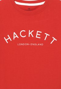Hackett London - LOGO TEE - T-Shirt print - red - 3