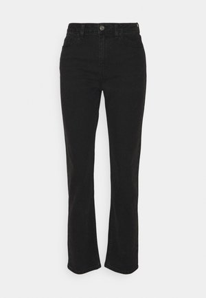 ONLFINE HIGH WAISTED - Slim fit jeans - black denim