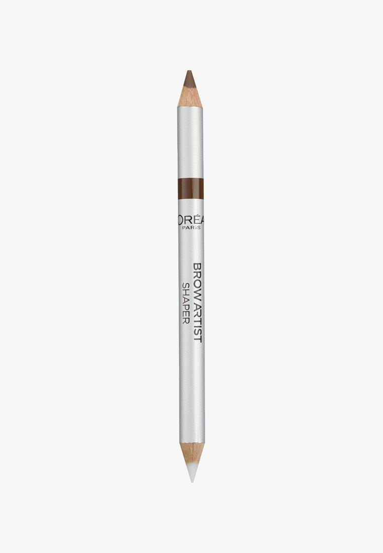 L'Oréal Paris - BROW ARTIST SHAPER - Eyebrow pencil - 03 brunette