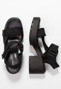 Vagabond - DIOON - Platform sandals - black - 3