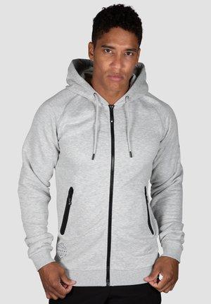 YVO TECH - Zip-up hoodie - hellgrau