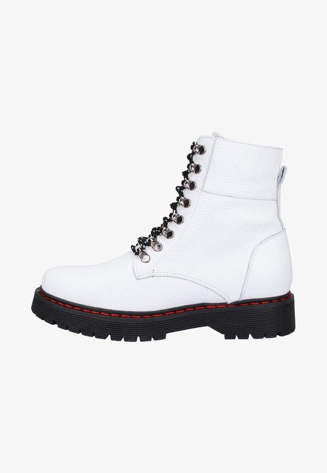 Cowboy-/Bikerlaarsjes - white