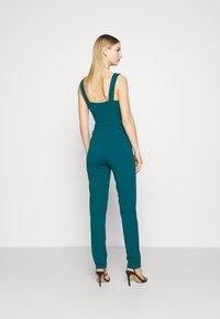 WAL G. - SERENITY PLUNGE - Jumpsuit - dark teal blue - 2