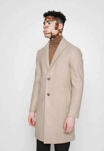 PEAK - Classic coat - beige
