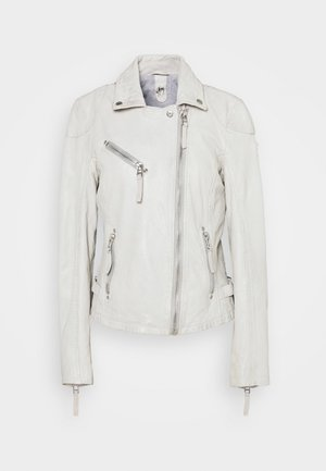 LABAGV - Leather jacket - off white