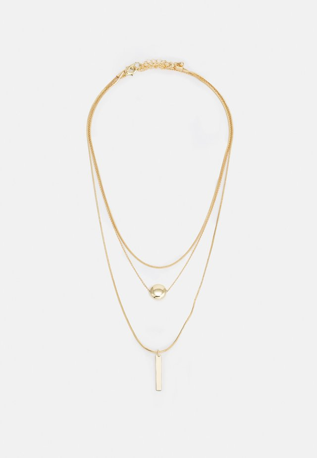 ONLKAREN NECKLACE 2 PACK - Necklace - gold-coloured