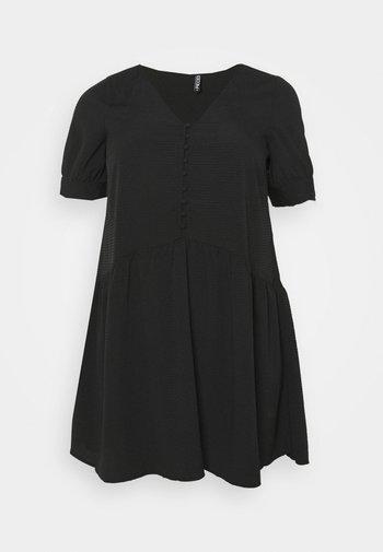 PCGENEVA DRESS CURVE - Day dress - black