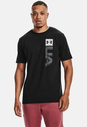 BOXED WORDMARK  - Print T-shirt - black