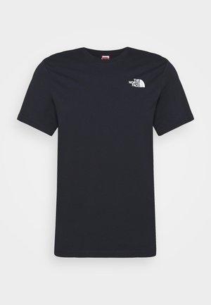 MEN´S TEE - T-Shirt print - dark blue/green