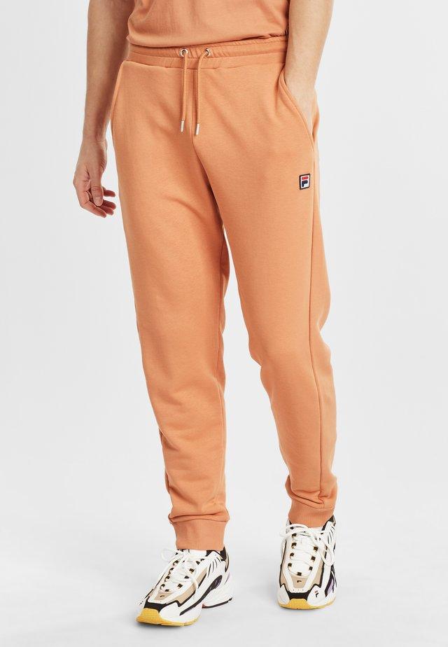 SAVIR - Teplákové kalhoty - hazel