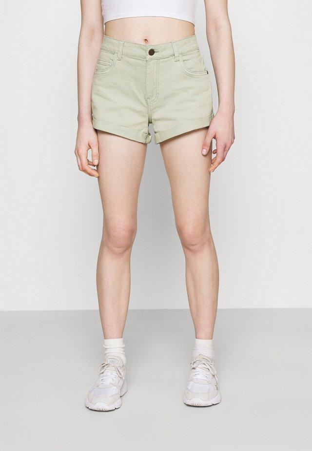 NMSHORTY - Shorts vaqueros - slate gray