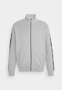 Fila - BRUSHED WITH FULL ZIP - Pyžamo - grey - 1
