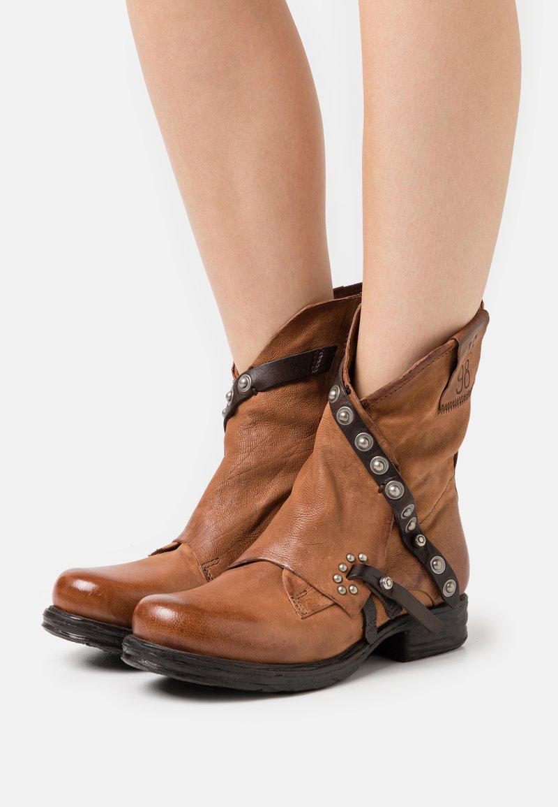 A.S.98 - Classic ankle boots - calvados/testa di moro