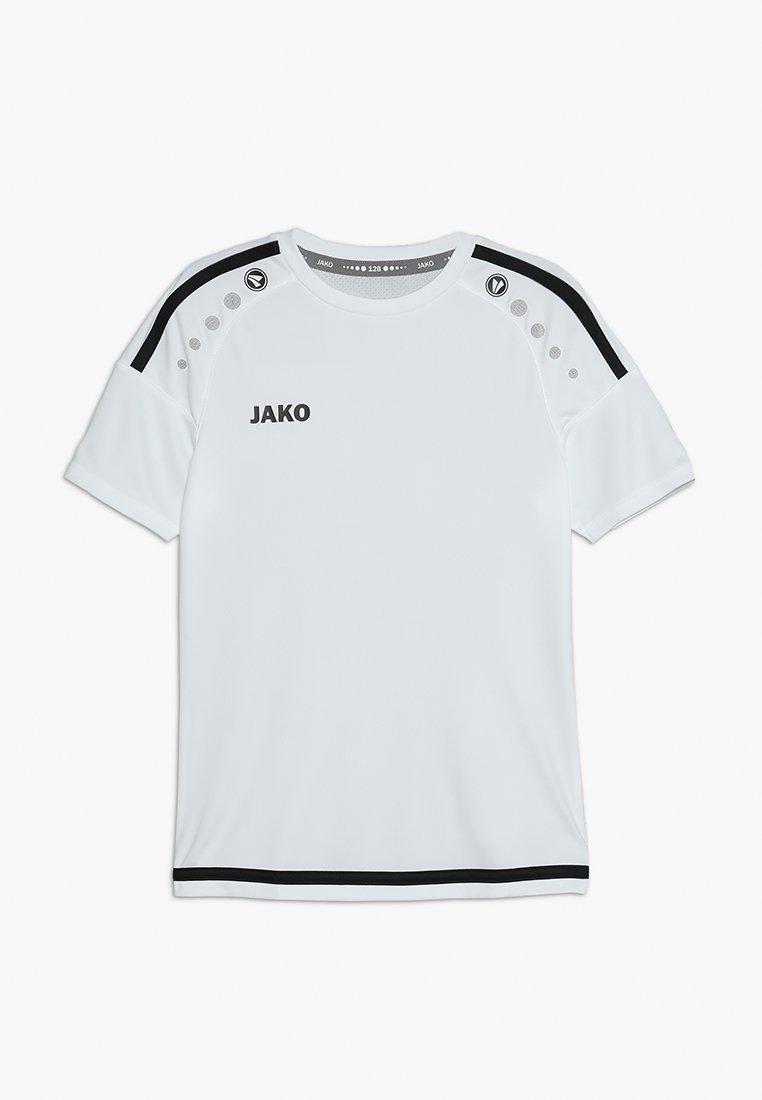 JAKO - TRIKOT STRIKER - Print T-shirt - weiß/schwarz