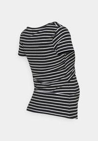 Anna Field MAMA - 2 pack NURSING FUNCTION t-shirt - T-shirts print - black - 2
