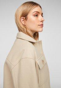 Q/S designed by - Summer jacket - beige - 4