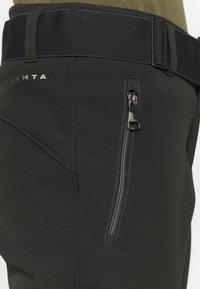 Luhta - JOENTAUS - Snow pants - black - 4