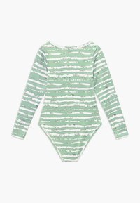 South Beach - GIRLS PRINTED BALLET LEOTARD - Danspakje - sage green