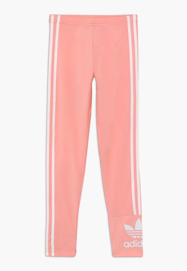 LOCK UP TIGHTS - Leggingsit - pink/white