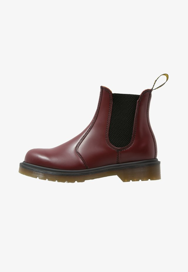 2976  - Classic ankle boots - cherry red
