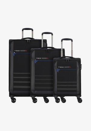3 SET - Kofferset - black