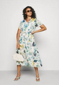 Zizzi - MLAURA MIDI DRESS - Day dress - multi-coloured - 1