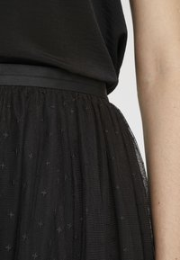 Needle & Thread - KISSES TULLE MIDI SKIRT - Plisséskjørt - ballet black - 4