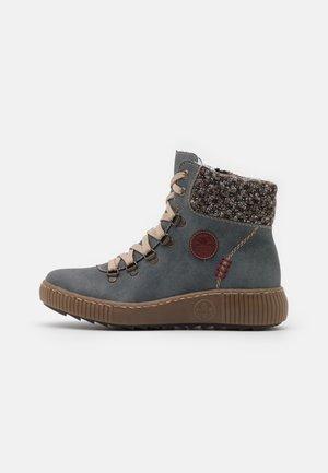 Vinterstøvler - jeans/terra/wine